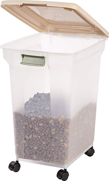 Pet Food Storage Containers airtight IRIS Premium