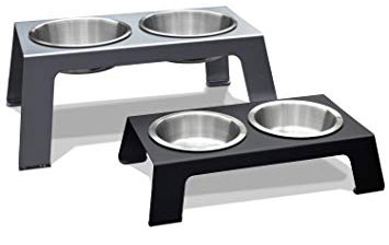 Dog-raised-bowls for dog