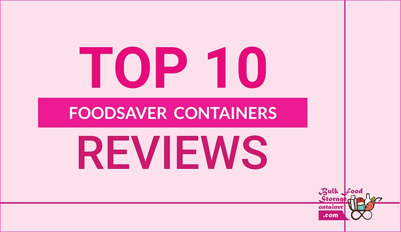 foodsaver containers