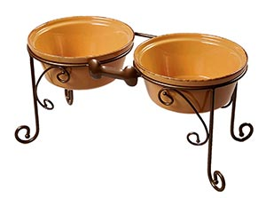 Raised dog bowls Argos