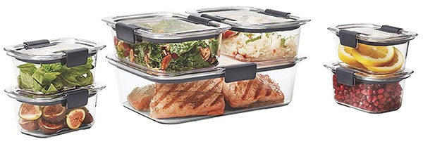 Rubbermaid brilliance 14 piece set