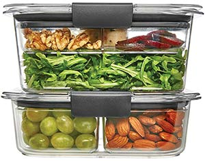 Rubbermaid brilliance salad kit