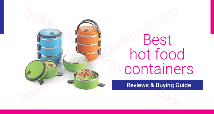 Best hot food containers