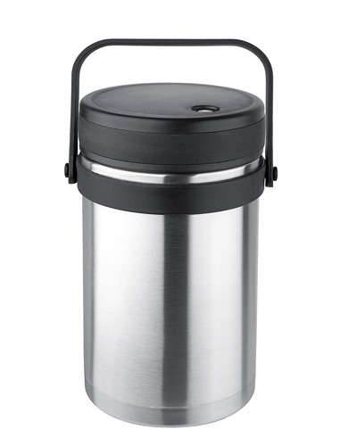 Isosteel Stainless Steel Double-Wall Vacuum Food Container