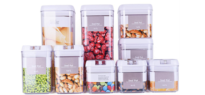 DRAGONN 9 Piece Airtight Food Storage Container Set